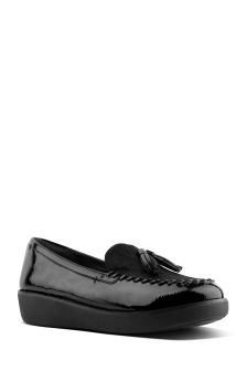 FitFlop™ Black Moccasin Petrina Loafer