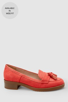 Cleated Tassel Loafers