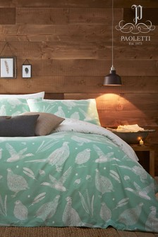 Riva Home Moorland Birds Duvet Cover And Pillowcase Set