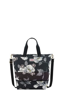 Cath Kidston® Black Wild Poppies Expandable Travel Bag