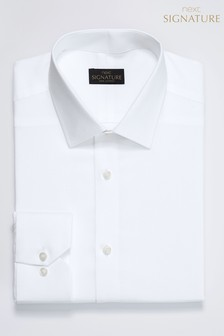 Signature Modern Collar Slim Fit Shirt