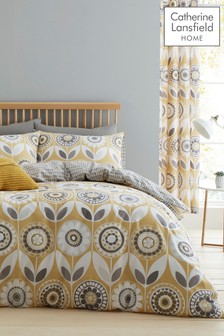 Catherine Lansfield Annika Duvet Cover and Pillowcase Set