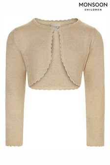 Monsoon Gold Niamh Cardigan