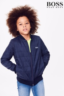 BOSS Navy Reversible Jacket