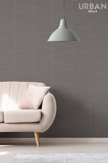 Urban Walls Deco Fracture Wallpaper