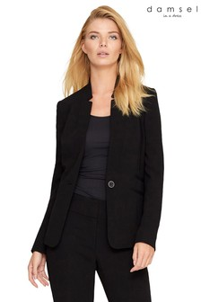 Damsel Black City Suit Jacket