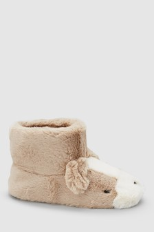 Dog Character Slipper Boots