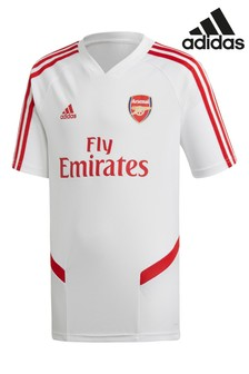 adidas White Arsenal FC Training T-Shirt