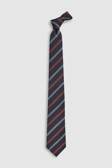 Stripe 'Made In Italy' Signature Tie