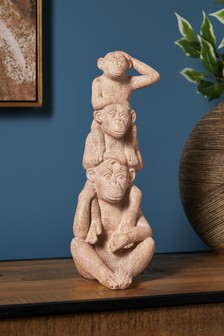 Stacking Monkey Sculpture