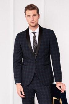 Check Tuxedo Suit: Jacket