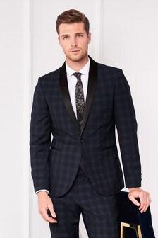 Check Tuxedo Suit