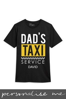 Personalised Dad's Taxi T-Shirt