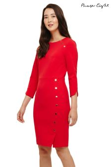 Phase Eight Red Leanna Dress