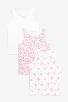 3 Pack Floral Vests (1.5-12yrs)