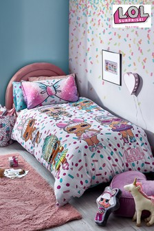 L.O.L. Surprise! Reversible Duvet Cover and Pillowcase Set