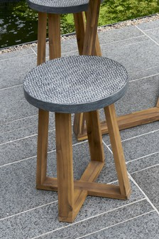 Cement Effect Dining Stool