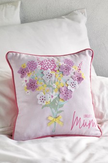 Mother's Day Loveliest Mum Cushion