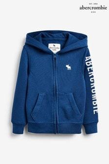 Niebieska bluza Abercrombie & Fitch Core