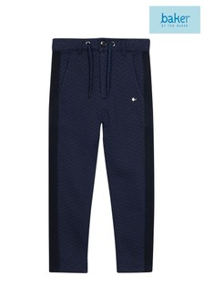 baker by Ted Baker Younger Boys Navy Chino