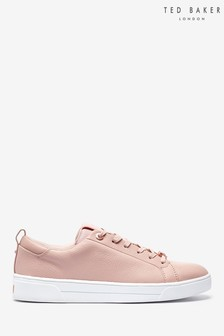 Ted Baker Mink Leather Trainers