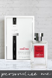 Personalised Code Red 100ml Eau De Toilette