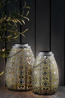 Set of 2 Solar Asmae Lanterns