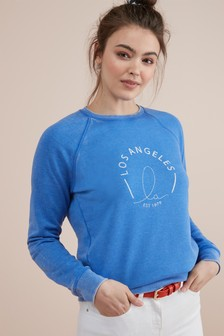 428cc7854b7 Womens Sweat Tops | Ladies Sweatshirts & Sweaters | Next UK