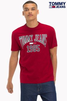 Tommy Jeans Red Logo T-Shirt