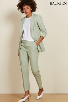 Baukjen Mint Green Cigarette Pant