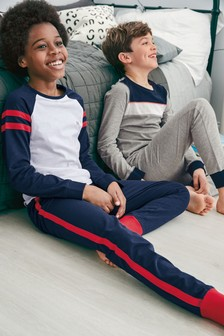 Colourblock Pyjamas Two Pack (3-16yrs)