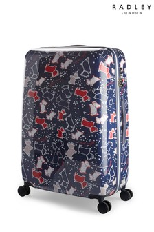 Radley Speckle Dog Large Suitcase