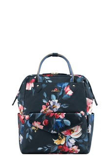 Cath Kidston® Blue Paintbox Flowers Frame Backpack
