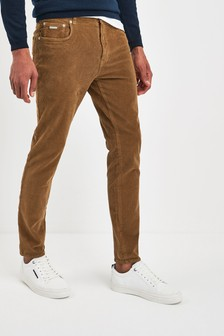 Superdry Brown Slim Trousers