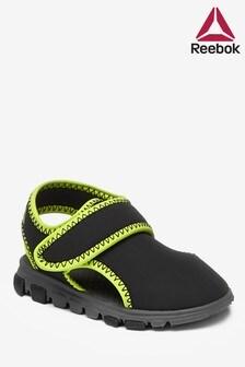 Черные/зеленые сандалии Reebok Wave Glider III