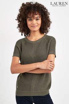 Lauren Ralph Lauren® Khaki Sirota Jumper