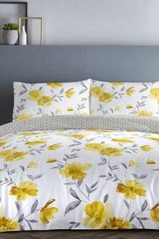 Celestine Floral Duvet Cover and Pillowcase Set