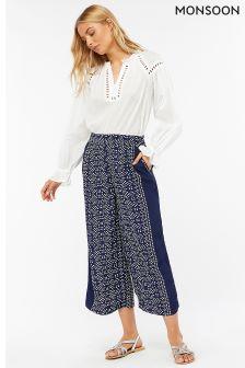 Monsoon Blue Bandini Trouser