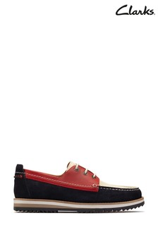 Clarks Multicolour Durston Lace Shoes