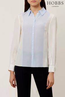 Hobbs Cream Lina Shirt