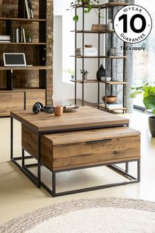 Bronx Storage Coffee Nest of 2 Tables