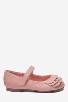 Mary Jane Ruffle Shoes (Younger)