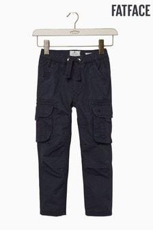 FatFace Blue Oakhill Cargo Trouser