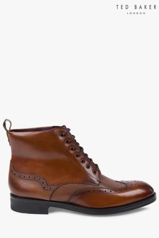Ted Baker Tan Twrens Brogue Boot