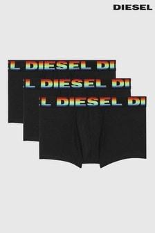 Diesel® Black Trunks Three Pack