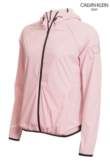 Calvin Klein Golf Pink Arena Windbreaker Jacket