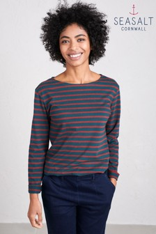 Seasalt Breton Dark Lake Sailor Top