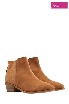 Joules Tan Langham Ankle Boot