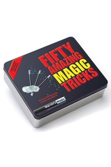 Marvin's Magic Fifty Amazing Magic Tricks Gift Tin