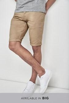 Brushed Chino Shorts